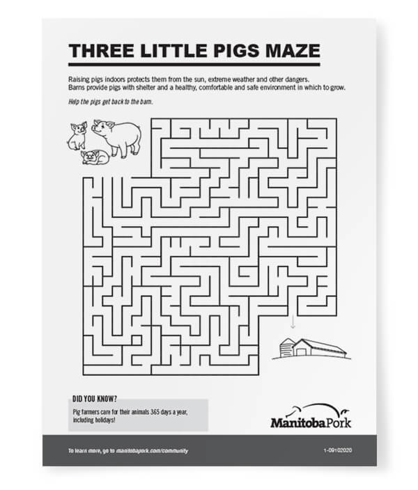 Maze: Three Little Pigs