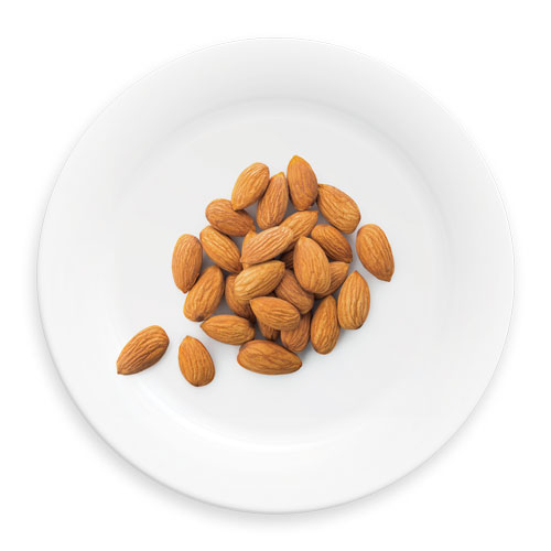 ¾ CUP WHOLE NATURAL ALMONDS