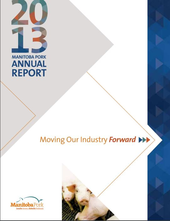 2013 Manitoba Pork Annual Report