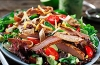 Santa Fe Pork Tenderloin Salad with Cilantro-Lime Vinaigrette
