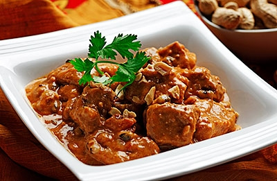West African Pork Peanut Stew