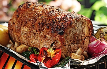Moroccan Pork Loin Roast