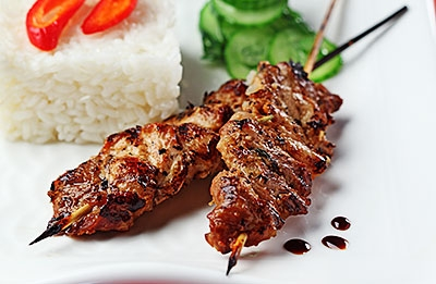 Indonesian Pork Satay