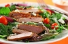 Buffalo Style Pork Tenderloin Salad