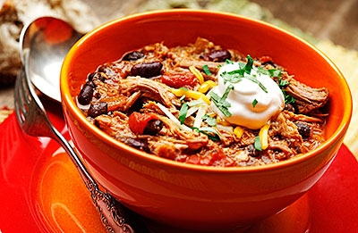 Tex Mex Pulled Pork Chili