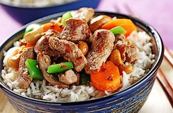Pork & Cashew Stir-Fry