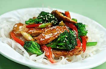 Sesame Pork with Broccoli