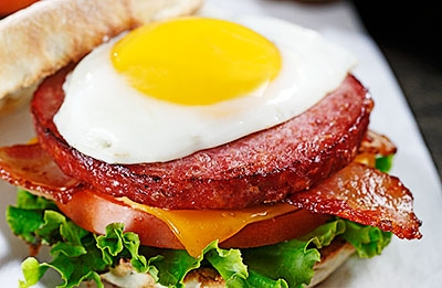 The Farmer Breakfast Sandwich