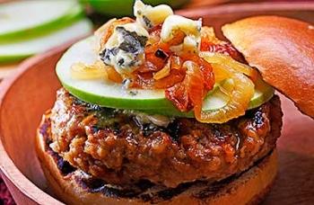 Gourmet Pork Burgers