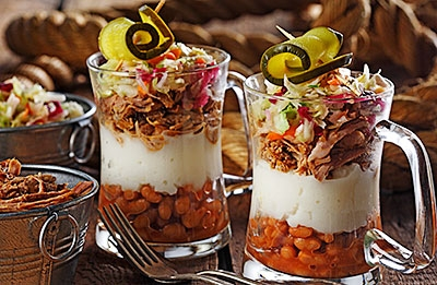 Pulled Pork Parfait