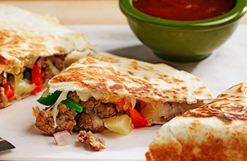 Hawaiian Holiday Quesadillas