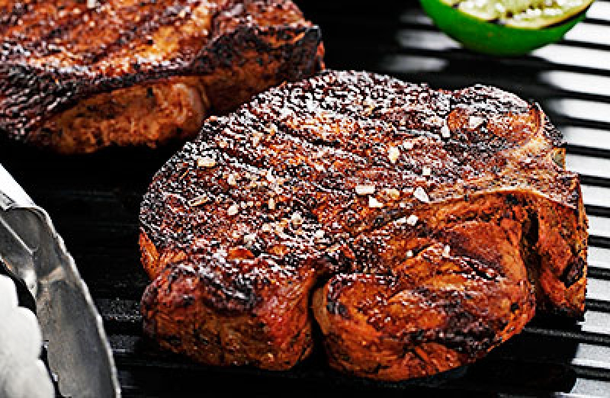Grilled Margarita Chops