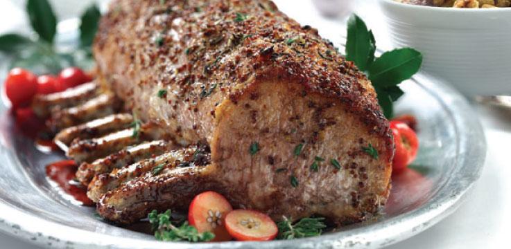 Rack of pork recipe
