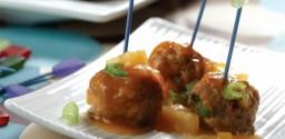Sweet n' Sour Manitoba Pork Cocktail Meatballs